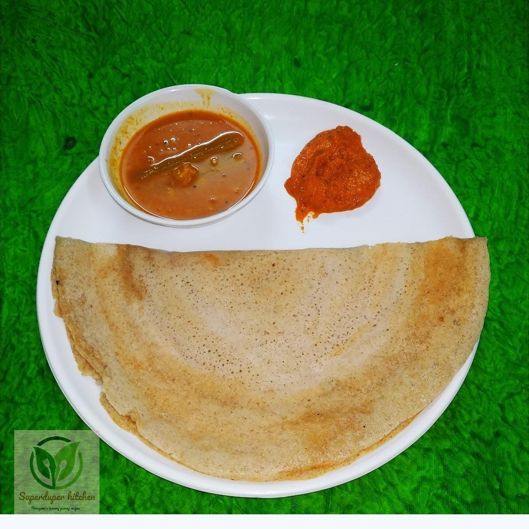 Quinoa Red rice Dosa _ Main pic